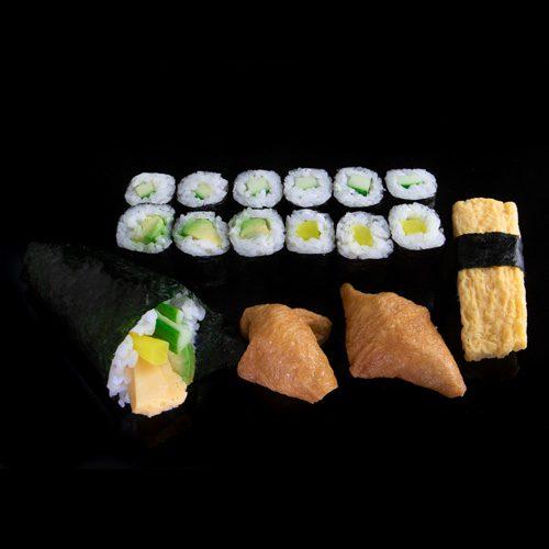veggie menu fresh2go sushi