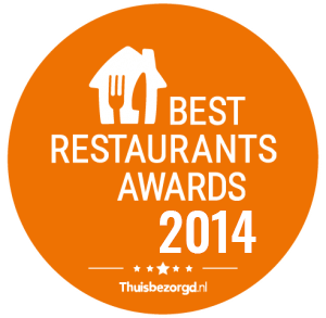 best restaurant awards fresh2go sushi 2014
