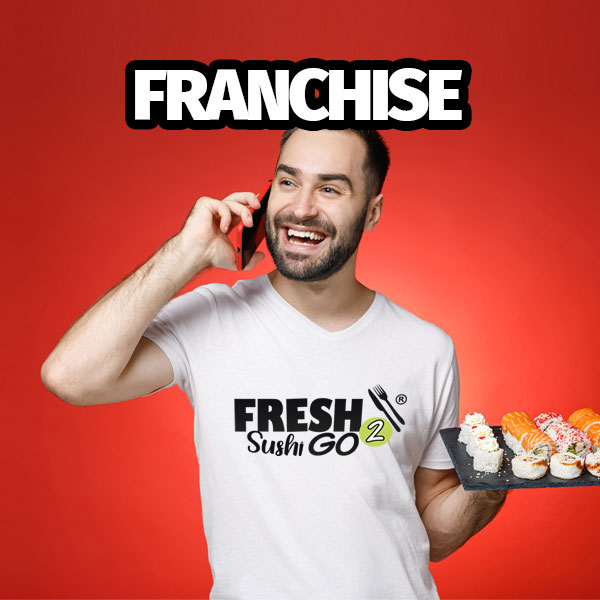 franchise fresh2go sushi