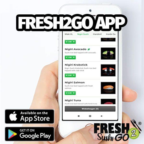 fresh2go sushi app